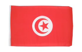 Small Flag Tunisia - 12x18""