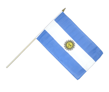 Argentinien - Stockflagge 30 x 45 cm