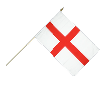 England St. George - Stockflagge 30 x 45 cm