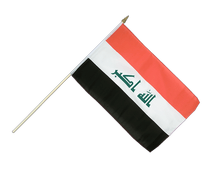 Iraq 2009 - Hand Waving Flag 12x18""