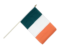 Ireland - Hand Waving Flag 12x18""