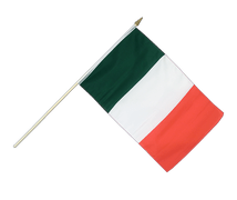 Italy Hand Waving Flag - 12x18""
