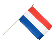 Hand Waving Flag Luxembourg - 12x18""
