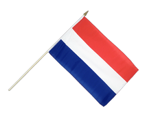 Netherlands Hand Waving Flag - 12x18""