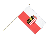 Upper Austria - Hand Waving Flag 12x18""