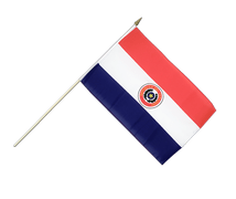 Paraguay Hand Waving Flag - 12x18""
