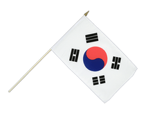 South Korea Hand Waving Flag - 12x18""