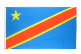 Democratic Republic of the Congo - 3x5 ft Flag
