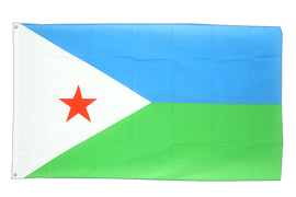 Djibouti - 3x5 ft Flag