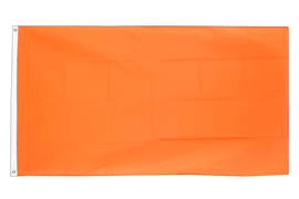 Orange - Flagge 90 x 150 cm