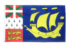 Saint Pierre and Miquelon - 3x5 ft Flag