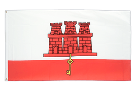 Gibraltar Flag - 3x5 ft