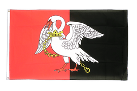 Buckinghamshire new - 3x5 ft Flag