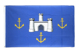Isle of Wight alt - Flagge 90 x 150 cm