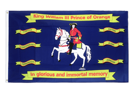 King William of Orange - Flagge 90 x 150 cm
