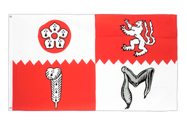Leicestershire Flag - 3x5 ft