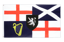 Lord Protectors Banner und Command 1658-59 - Flagge 90 x 150 cm