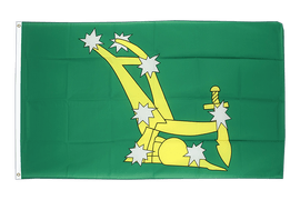 Starry Plough green 1916-1934 - 3x5 ft Flag