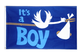 It's a boy - Flagge 90 x 150 cm