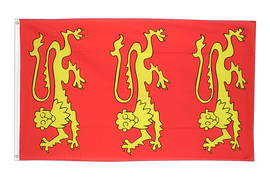 King Richard I of England 1189 - 3x5 ft Flag