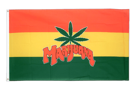 Marijuana - 3x5 ft Flag