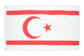 North Cyprus - 3x5 ft Flag