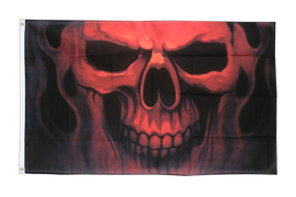 Skull Ghost - 3x5 ft Flag