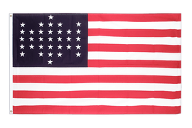 Flagge 33 Sterne Fort Sumter Union Civil War 1861 - 90 x 150 cm