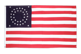Flagge USA 35 Sterne Betsy Ross 1867-1877 - 90 x 150 cm