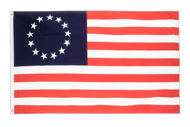 Betsy Ross 1776-1795 - Flagge 90 x 150 cm