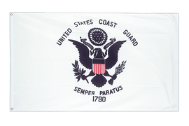 Coast Guard Flag - 3x5 ft