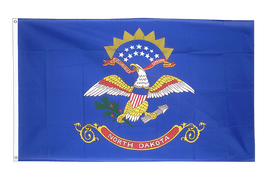 North Dakota - Flagge 90 x 150 cm