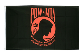 USA Pow Mia / black,red - 3x5 ft Flag