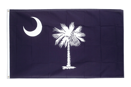 South Carolina - Flagge 90 x 150 cm