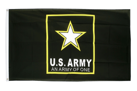 USA US Army Star - Flagge 90 x 150 cm
