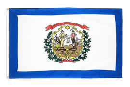 Acheter drapeau Virgine-Occidentale (West Virginia) - 90 x 150 cm