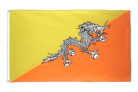 Cheap Flag Bhutan - 2x3 ft