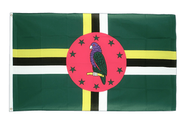 Dominica - 2x3 ft Flag