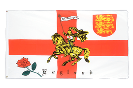 England with knight - 2x3 ft Flag