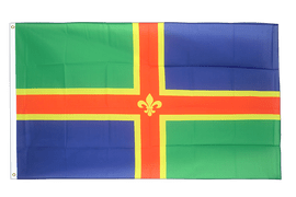 Lincolnshire - 2x3 ft Flag
