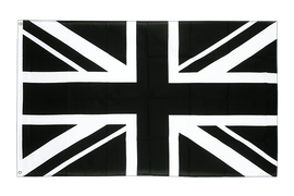 Union Jack black - 2x3 ft Flag