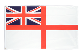 Naval Ensign of the White Squadron - 2x3 ft Flag