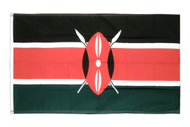 Cheap Flag Kenya - 2x3 ft