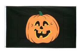 Cheap Pumpkin Flag - 2x3 ft