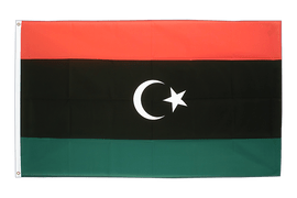 Kingdom of Libya 1951-1969 Opposition Flag Anti-Gaddafi Forces - 2x3 ft Flag