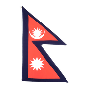 Cheap Nepal Flag - 2x3 ft