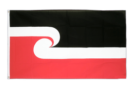 New Zealand Maori - 2x3 ft Flag