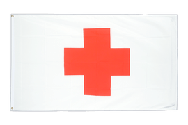 Cheap Red Cross Flag - 2x3 ft