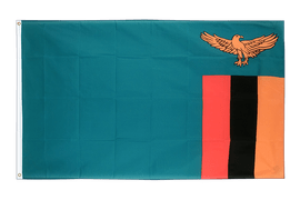 Zambia - 2x3 ft Flag