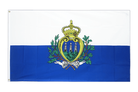 San Marino - 2x3 ft Flag